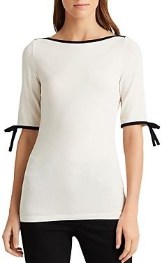 Ralph Lauren Ralph Bow-Sleeve Top