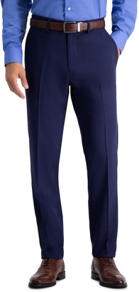 """Haggar Solid 4-Way Stretch Suit Spearate Pants - 30-34"""" Inseam"""