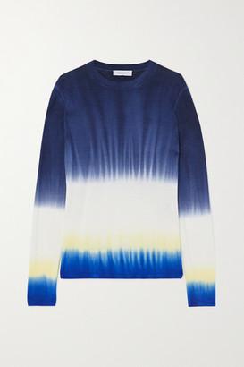 Gabriela Hearst Miller Tie-dyed Cashmere Sweater - Navy