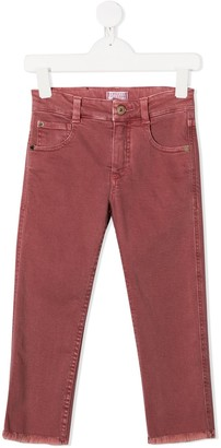 BRUNELLO CUCINELLI KIDS Skinny-Fit Washed Jeans