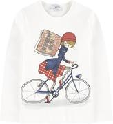 MonnaLisa T-shirt with a print