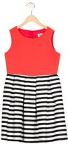 Milly Minis Girls' Striped A-Line Dress