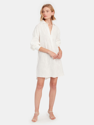 The Line By K Coki Mini Shirt Dress