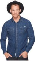 Lucky Brand Classic Fit Western Denim Shirt Men's Clothing