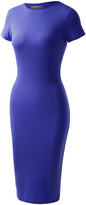BB Royal Blue Biadani Slim-Fit Bodycon Dress - Plus Too