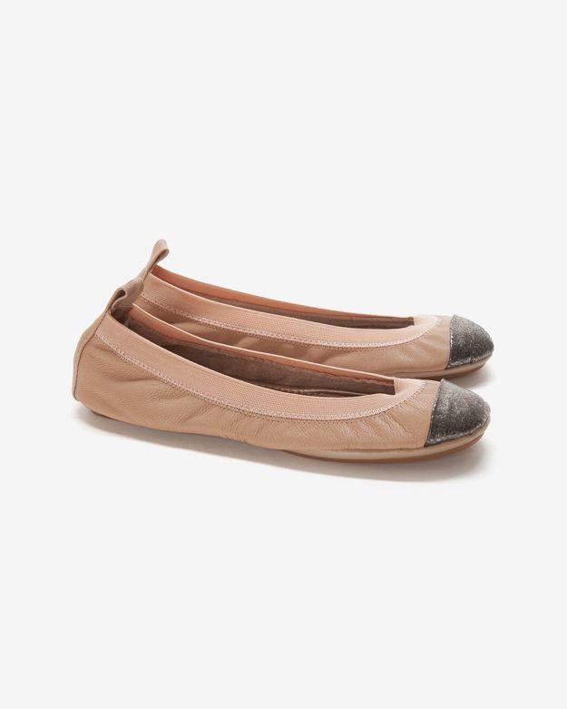 Yosi Samra Cap Toe Ballet Flat