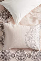 Anthropologie Embroidered Kauri Shams