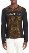 Versace Men's Foil Logo T-Shirt