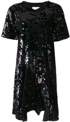 Koché Sequin Embroidered Dress