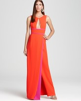 BCBGMAXAZRIA Gown - Blake Front Cutout