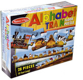Melissa & Doug Alphabet Train Floor Puzzle - 28 Pieces