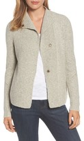 Caslon Women's Mixed Stitch Cardigan