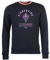 Le Coq Sportif Fiorentina Crew Sweater Mens