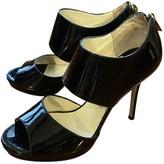 Jimmy Choo Black Patent leather Sandals