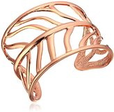 Vince Camuto Cut Out Leaf Cuff Bracelet