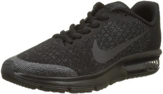 Nike Sequent 2 Gs Girls Gymnastics Shoes Black (Black/black/anthracite) 6 UK (40 EU)