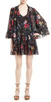 McQ by Alexander McQueen Women's Floral Print Shift Dress