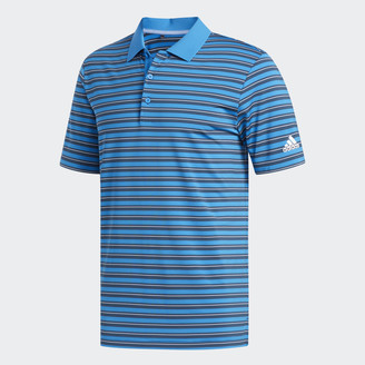adidas Ultimate365 3-Color Stripe Polo