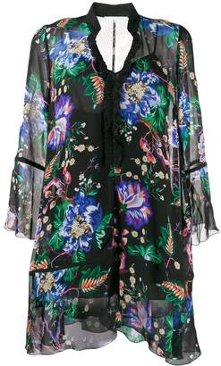 Patrizia Pepe Black Garden dress