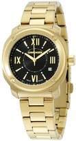 Wenger Women's Gold-Tone Steel Bracelet & Case Swiss Quartz Dial Analog Watch 01.1121.114