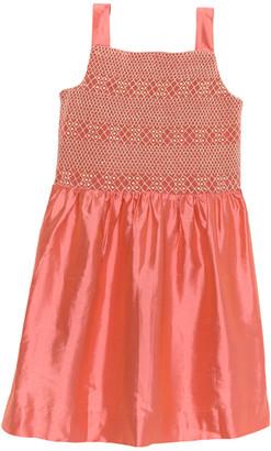Brooks Brothers Girls' Silk Tank Dress