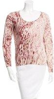Loro Piana Printed Cashmere Sweater