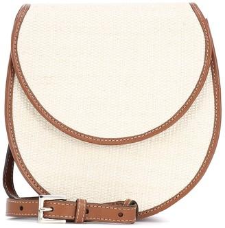 Hunting Season Exclusive to Mytheresa a The Saddle Small canvas crossbody bag