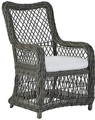 Lane Venture Mystic Harbor Outdoor Armchair - French Gray