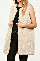 BB Dakota Long Fur Vest