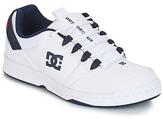 DC SYNTAX M SHOE WNY men's Skate Shoes (Trainers) in White
