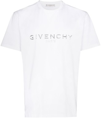 Givenchy logo-applique cotton T-shirt