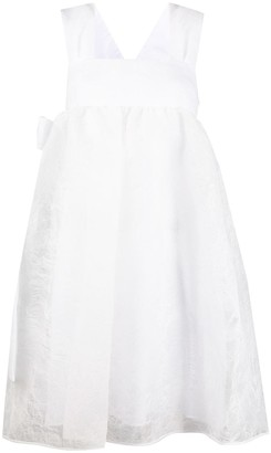 Cecilie Bahnsen sleeveless A-line dress
