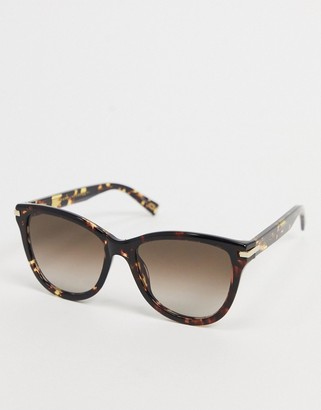 Marc Jacobs Mark Jacobs round sunglasses in black