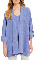 Eileen Fisher Petites Envelope Merino Wool Jacket