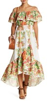 Flying Tomato Floral Hi-Lo Dress