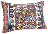 Trina Turk 20x12 Hollyhock Ikat Pillow - Coral/White