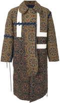 Craig Green patterned long coat
