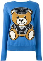 Moschino biker teddy bear jumper