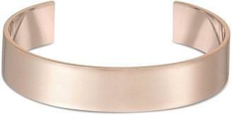 Arque Extra Large Rose Gold Plated Brass Medium/Large Cuff of 15.8 cm