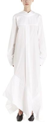 Jil Sander Asymmetric Maxi Dress