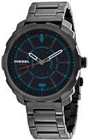 Diesel Machinus DZ1738 Men's Round Gunmetal Stainless Steel Watch