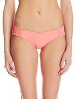 Tori Praver Women's Daisy Bikini Bottom with Full Coverage