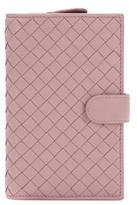 Bottega Veneta Continental intrecciato leather wallet