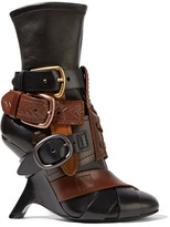 Tom Ford Buckled Stretch-leather Ankle Boots - Black
