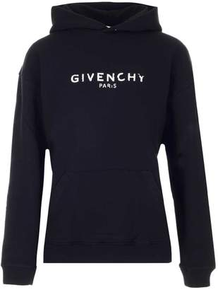 Givenchy Logo Printed Hoodie