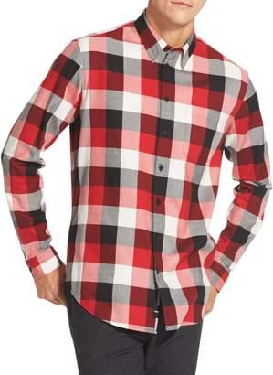 DKNY Buffalo Plaid Long-Sleeve Shirt