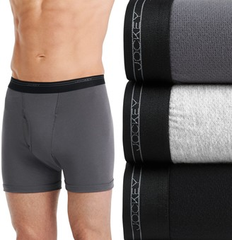 Jockey Men's 3-pack Classics Breathe Mesh Boxer Briefs