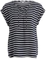 Tom Tailor LOOSE WOVEN WITH LACING Blouse navy