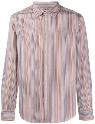 Paul Smith Slim-fit signature stripe shirt