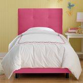 Skyline Furniture Kids Tufted Bed in Premier Hot Pink